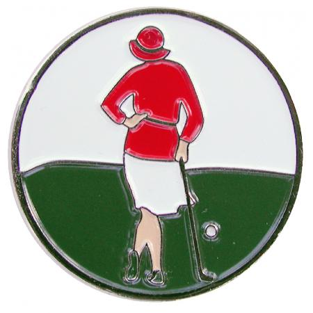 Navika Basic Ballmarker &quote;Vintage Lady&quote;