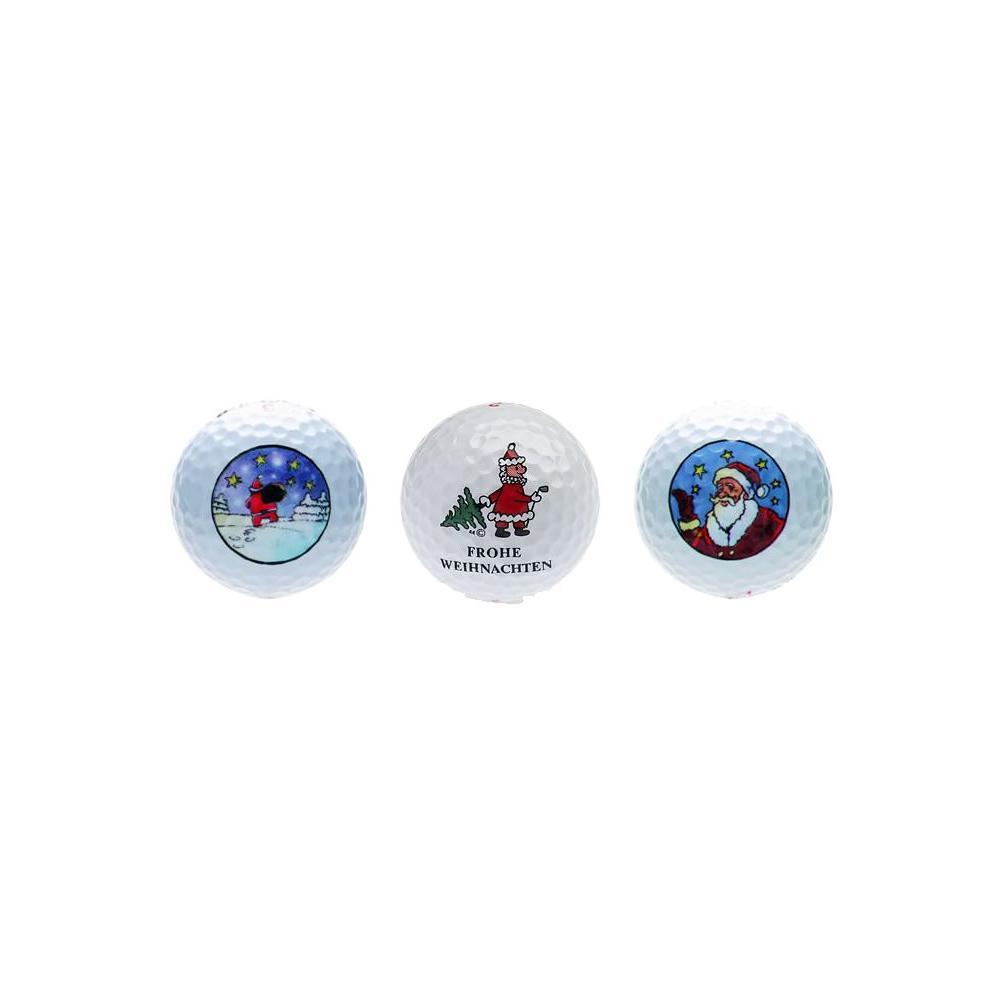 six pack weihnachten golfball set. Black Bedroom Furniture Sets. Home Design Ideas