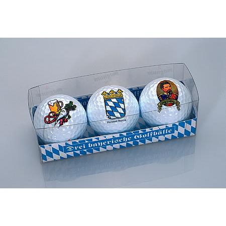 Golfball-Set &quote;Bayern&quote;