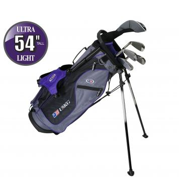 U.S. Kids Golf Starterset Ultralight 54, 137-145cm
