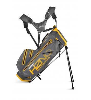 Sun Mountain H2NO Pro Standbag, gunmetal/yellow