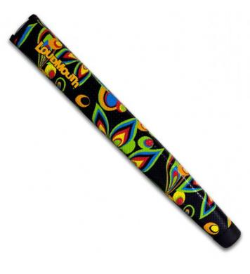 Loudmouth Jumbo Putter Griff Black Shagadelic