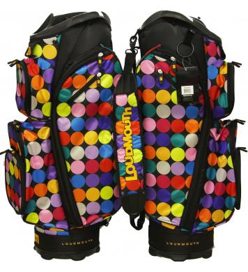 Loudmouth Golf Cartbag 3.0 Disco Balls