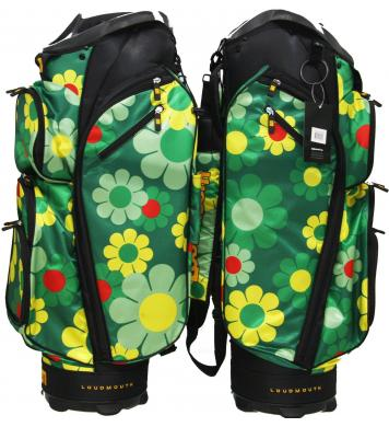 Loudmouth Golf Cartbag 3.0 Augusta Magic Bus