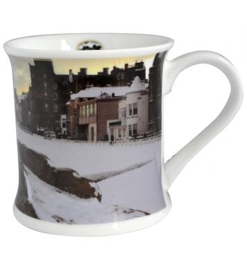 St. Andrews Golf Tasse Wintermotiv