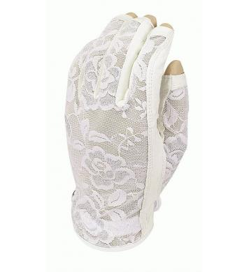 Evertan Three-Quarter Damen Sonnenhandschuh, Gilded Floral
