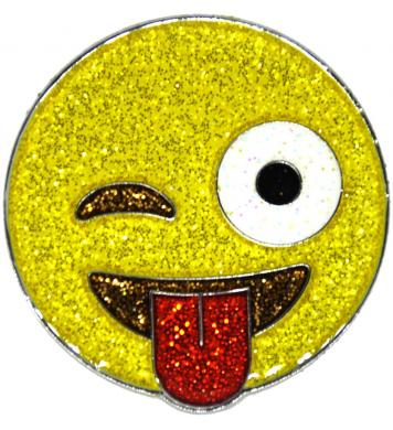 Emoji® Glitzy Ballmarker Just Kidding
